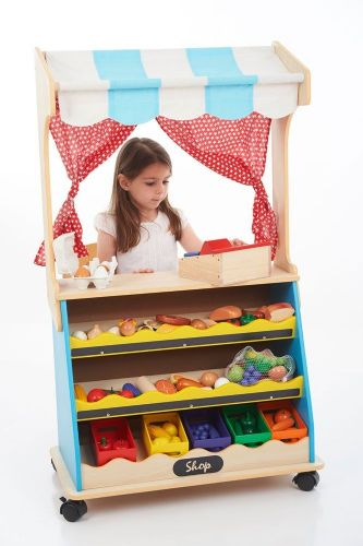 Play Shop & Theatre 2 in 1 (Free Delivery)